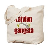 Latvian Gangsta Tote Bag