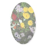 Garden 05 Oval Decal