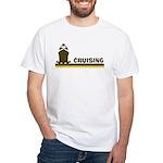 Retro Cruising White T-Shirt