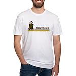 Retro Cruising Fitted T-Shirt