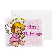 Merry Christmas Angel Greeting Cards (Pk of 20)