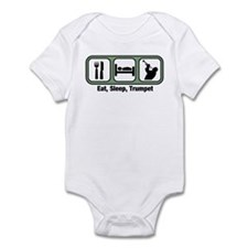 Eat, Sleep, Trumpet Infant Bodysuit
