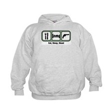 Eat, Sleep, Shoot Guns Hoodie
