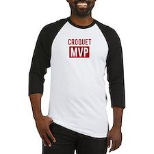 Croquet MVP Baseball Jersey