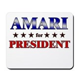 AMARI for president Mousepad
