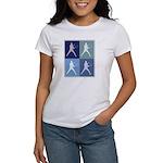 Mens Tennis (blue boxes) Women's T-Shirt