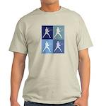 Mens Tennis (blue boxes) Light T-Shirt