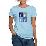 Lacrosse (blue boxes) Women's Light T-Shirt