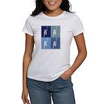 Lacrosse (blue boxes) Women's T-Shirt