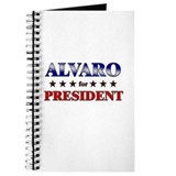 ALVARO for president Journal