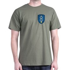 8th Infantry Division<BR> T-Shirt 7