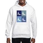 Garden (blue boxes) Hooded Sweatshirt