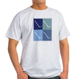 Field Hockey (blue boxes) T-Shirt