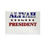 ALIYAH for president Rectangle Magnet