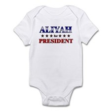 ALIYAH for president Infant Bodysuit