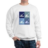 Canoeing (blue boxes) Sweatshirt