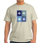 Canadian (blue boxes) Light T-Shirt
