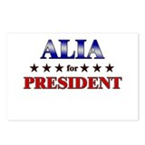 ALIA for president Postcards (Package of 8)