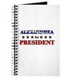 ALEXANDREA for president Journal