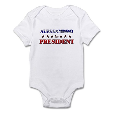 ALESSANDRO for president Infant Bodysuit