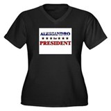 ALESSANDRO for president Women's Plus Size V-Neck