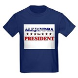 ALEJANDRA for president T