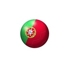 Portuguese Soccer Ball Mini Button (100 pack)