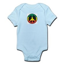 Rasta for peace Infant Creeper