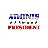 ADONIS for president Postcards (Package of 8)