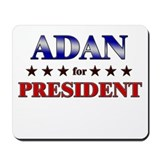 ADAN for president Mousepad