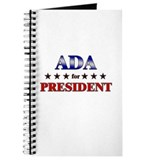 ADA for president Journal