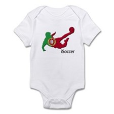 iSoccer Portugal Infant Bodysuit