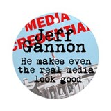 Real media looks good Keepsake (Round)