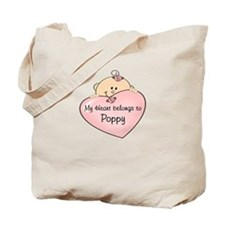 My Heart Belongs Poppy Tote Bag