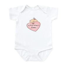 My Heart Belongs Nonno Infant Bodysuit