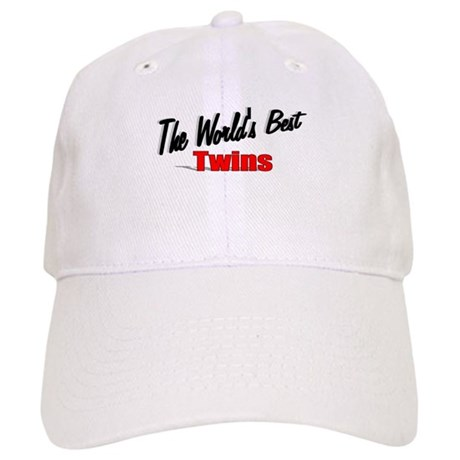 """The World's Best Twins"" Cap"