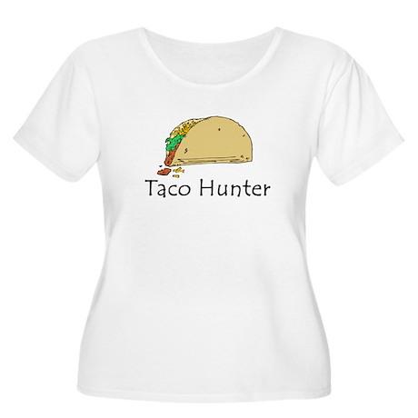 Taco Hunter Women's Plus Size Scoop Neck T-Shirt