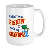Fishing With Grandpa Mug