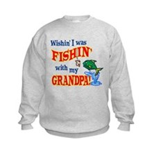 Fishing With Grandpa Sweatshirt