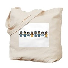 Dolls spoken here Tote Bag