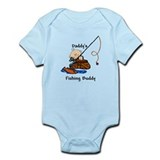 Daddy's Fishing Buddy  Baby Onesie