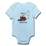 Poppa's Fishing Buddy Infant Bodysuit