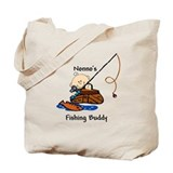 Nonno's Fishing Buddy Tote Bag