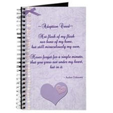 Adoption Creed Journal