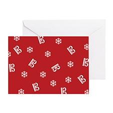 Alto/Tenor Snowflakes -r- Greeting Card