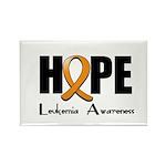 Hope-Leukemia Rectangle Magnet (10 pack)