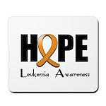 Hope-Leukemia Mousepad