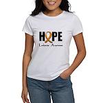 Hope-Leukemia Women's T-Shirt