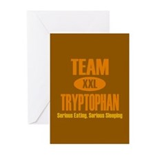 Team Tryptophan Greeting Cards (Pk of 10)