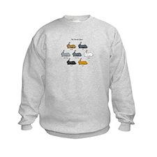 Flemish Giant Rabbit Kids Sweatshirt